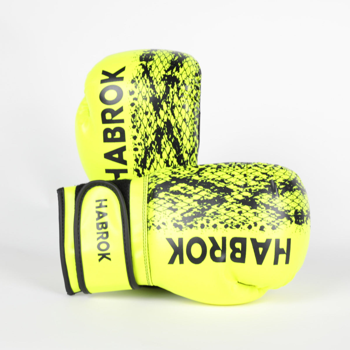 Habrok Boxing Gloves 4oz / YELLOW X1 | Boxing Gloves | Kids | Habrok | Yellow