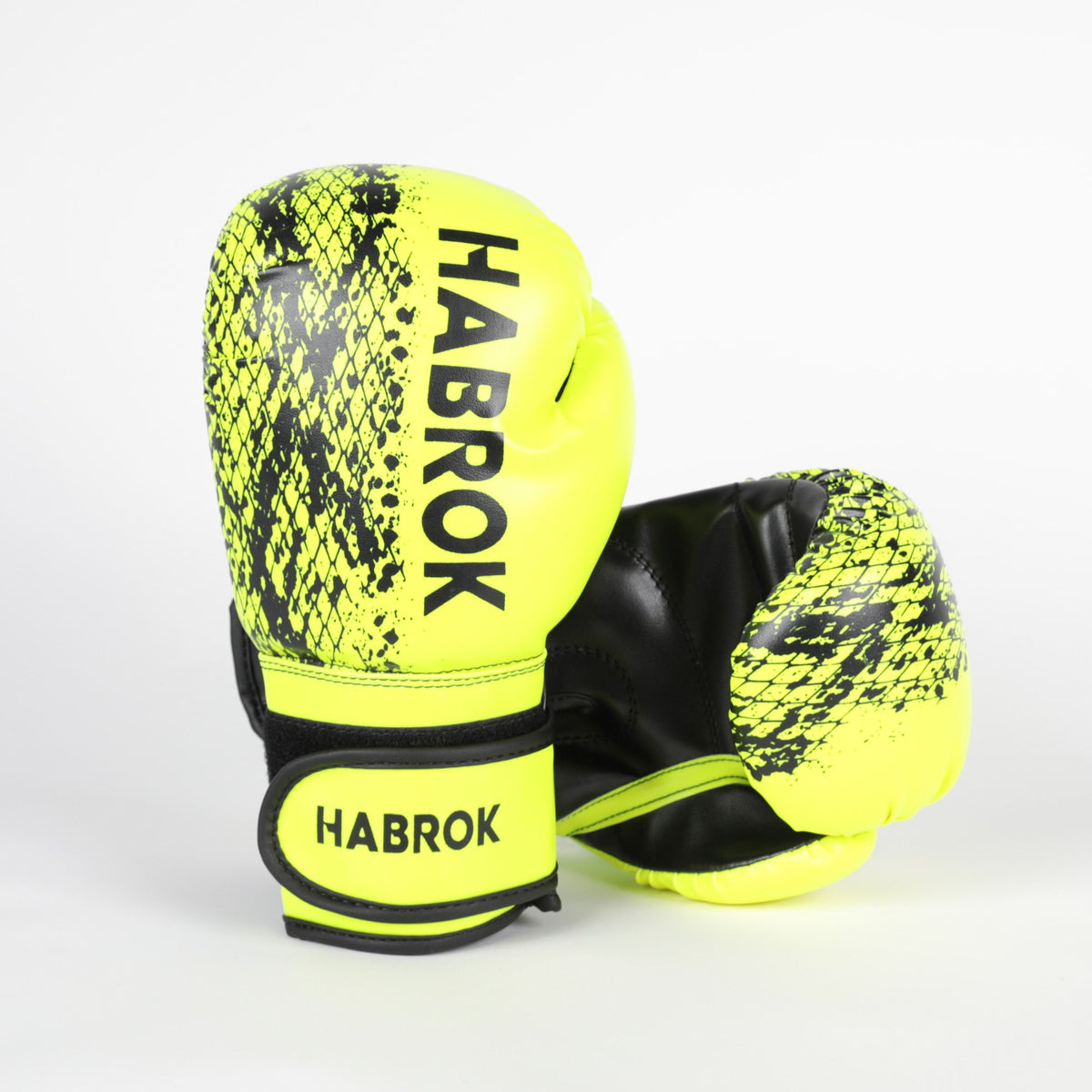 Habrok Boxing Gloves X1 | Boxing Gloves | Kids | Habrok | Yellow