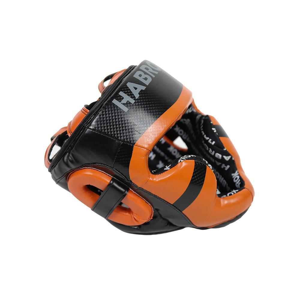 Habrok head guard L / ORANGE XT 2.0 | Head Guard | Habrok | MMA | Boxing | Muay Thai | Burnt Orange