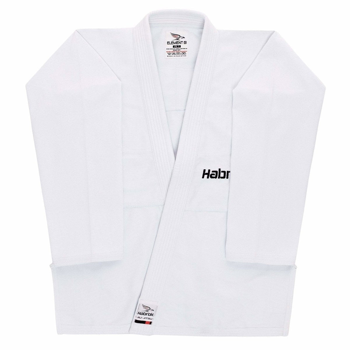 Habrok Jiu Jitsu Gi A00 / WHITE Element | BJJ Gi | Men | Ultra Light Weight | Jiu Jitsu GI Element | Jiu Jitsu Gi Men | Habrok | Ultra Light Weight