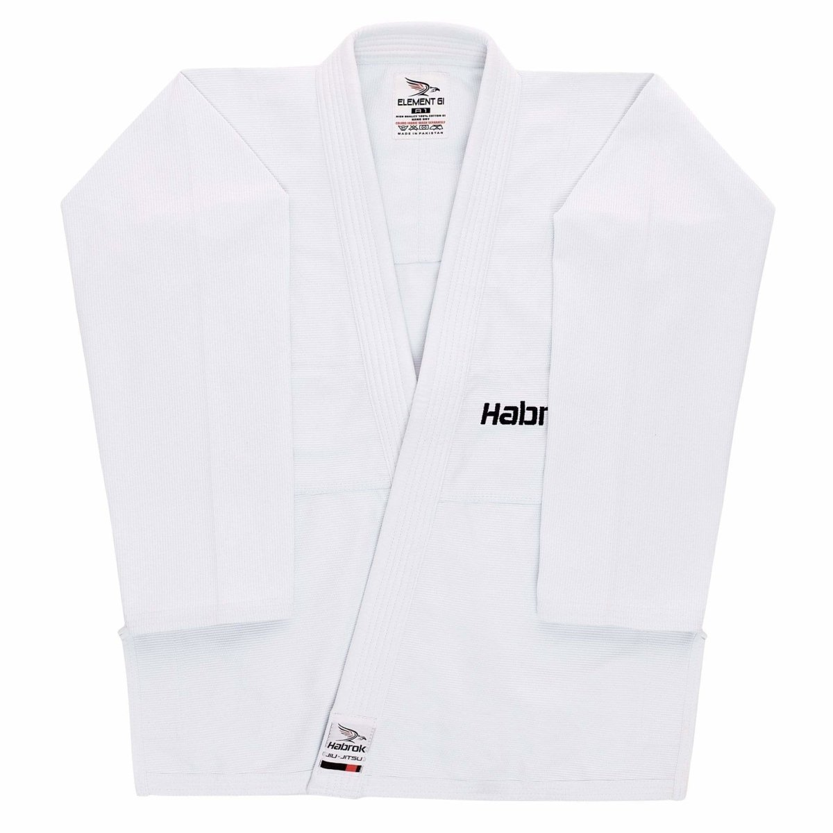 Habrok Jiu Jitsu Gi F0 / WHITE Element BJJ Gi | WOMEN| Ultra Light Weight | Jiu Jitsu GI Habrok | Element | BJJ Gi Women | Ultra Light Weight