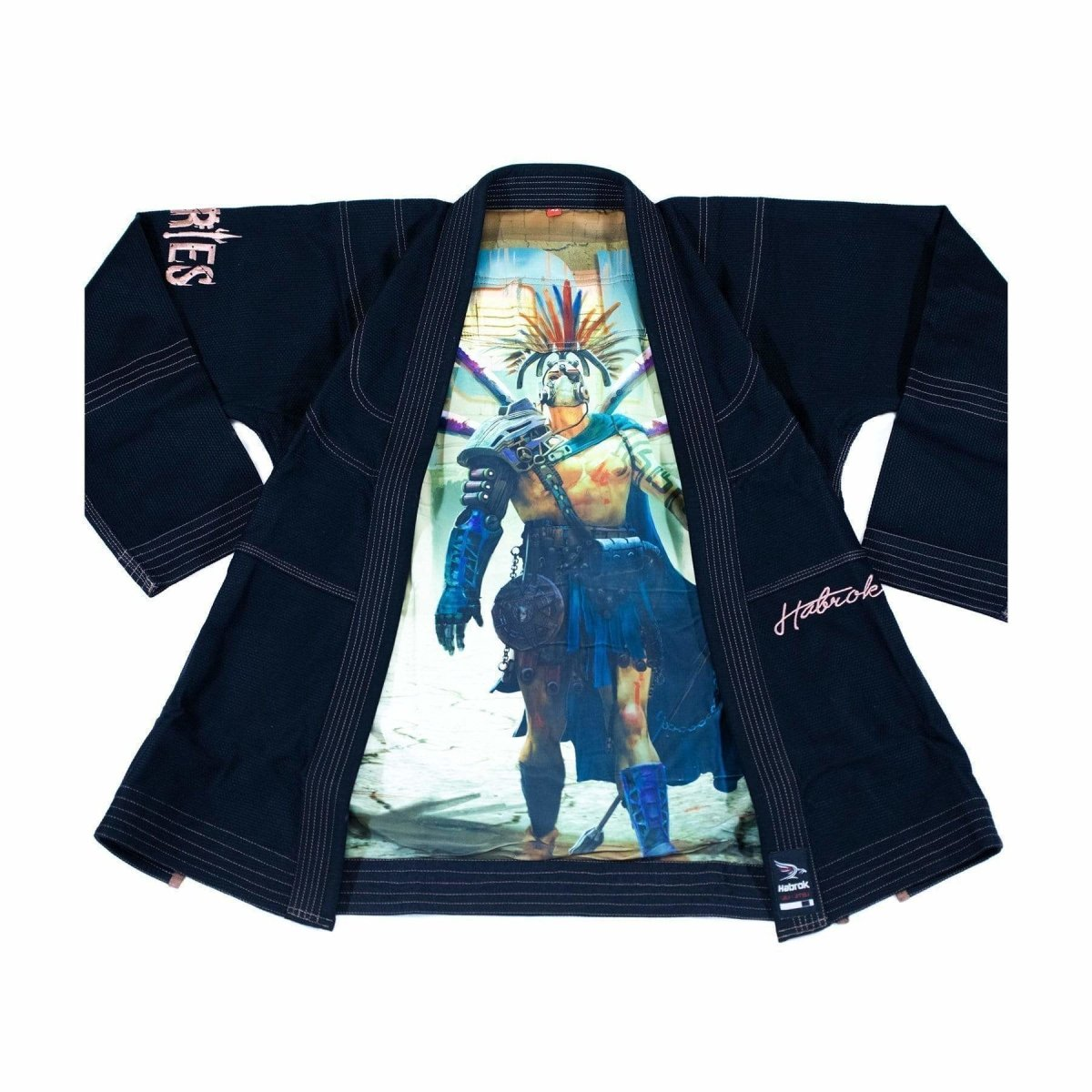 Habrok Jiu Jitsu Gi K00 / BLACK Ares | The Apocalypse Gladiator | BJJ GI | Youth | Black
