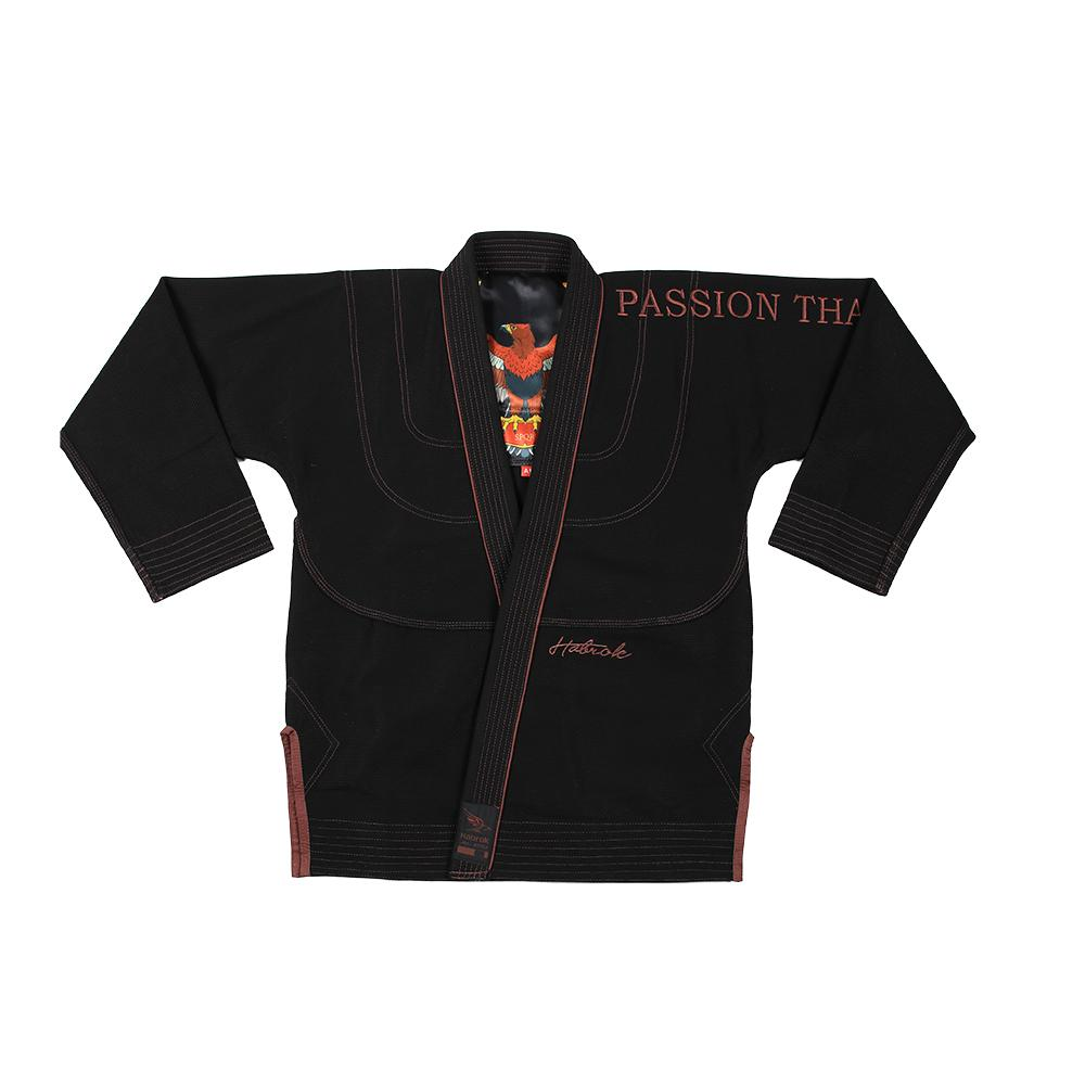 Habrok Jiu Jitsu Gi K00 / BLACK Passion 2.0 | Pro Comp | Signature GI | Youth | Black