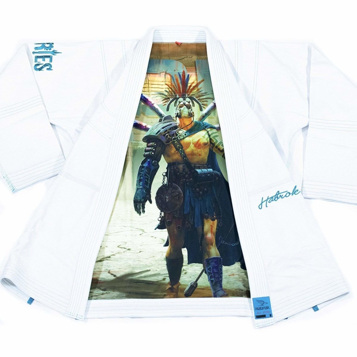 Habrok Jiu Jitsu Gi K00 / WHITE Ares | The Apocalypse Gladiator | BJJ GI | Youth | White