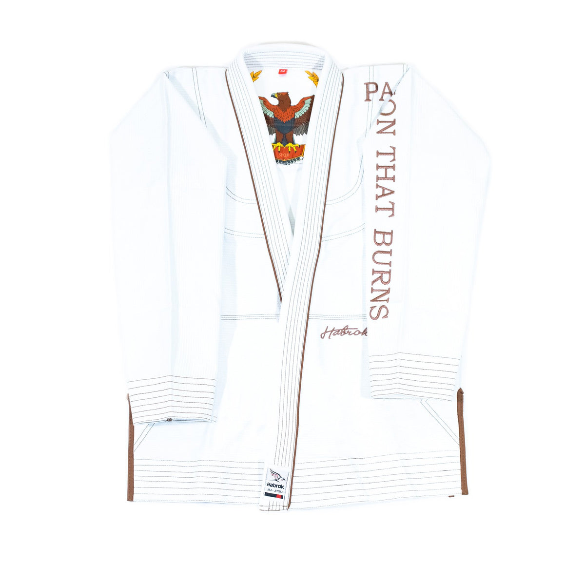 Habrok Jiu Jitsu Gi K00 / WHITE Passion 2.0 | Pro Comp | Signature GI | Youth | White