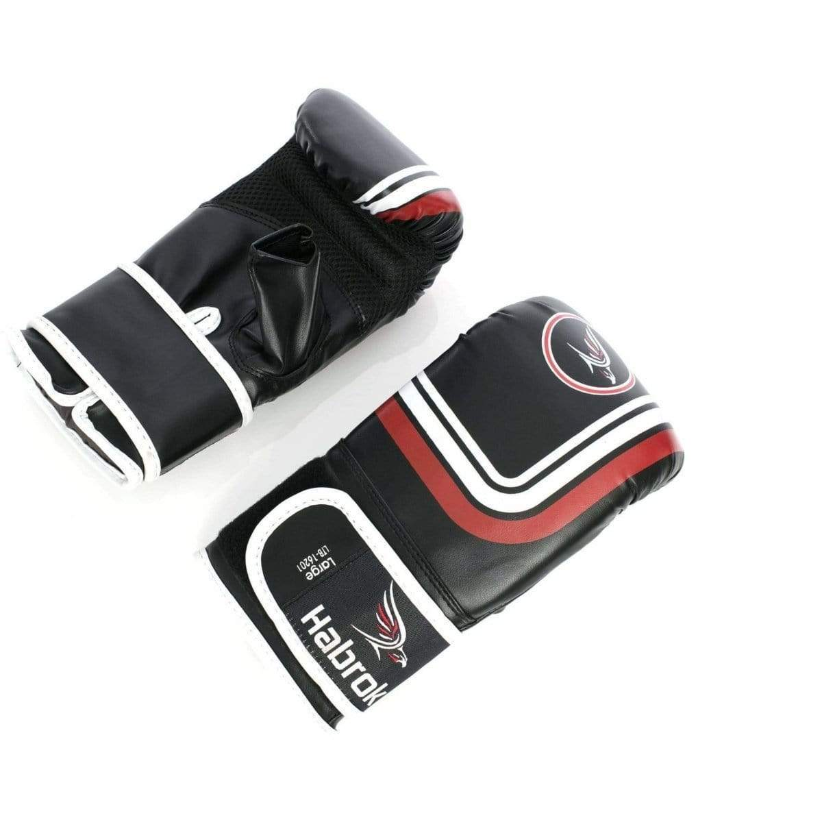 Habrok MMA GLOVES M / BLACK Pugnator | MMA Sparring Gloves