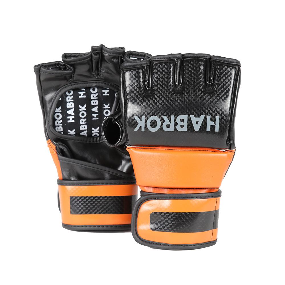 Habrok MMA GLOVES S / ORANGE XT 2.0  | MMA Gloves | Habrok | MMA | Muay Thai | Burnt Orange
