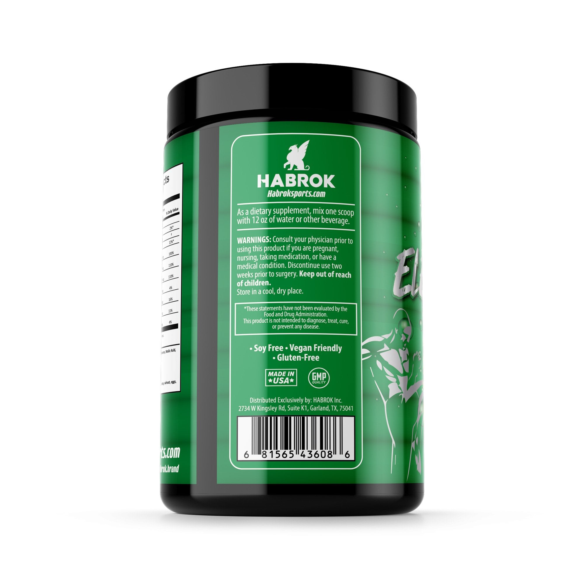 Habrok Nutritions Default Electrolytes Plus Vitamin C - Lemon | Pre or Post Workout | Habrok Electrolytes Plus Vitamin C - Lemon | Habrok |  MMA | Nutrition | BJJ