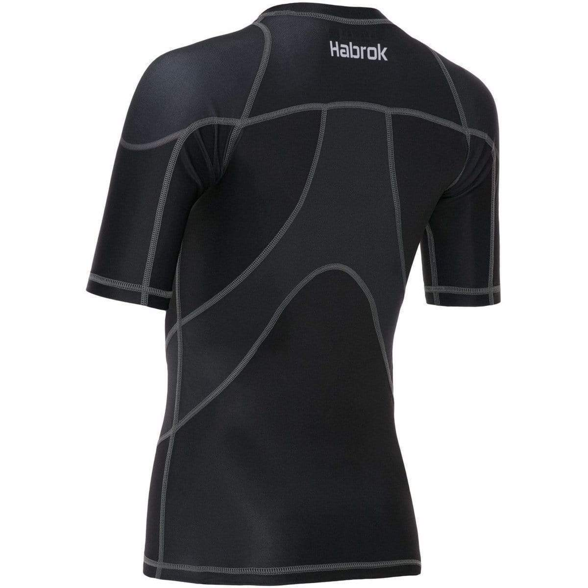 Habrok Rash Guard Pugnator 2.0 | Rash Guard | Women | Half Sleeve | Black