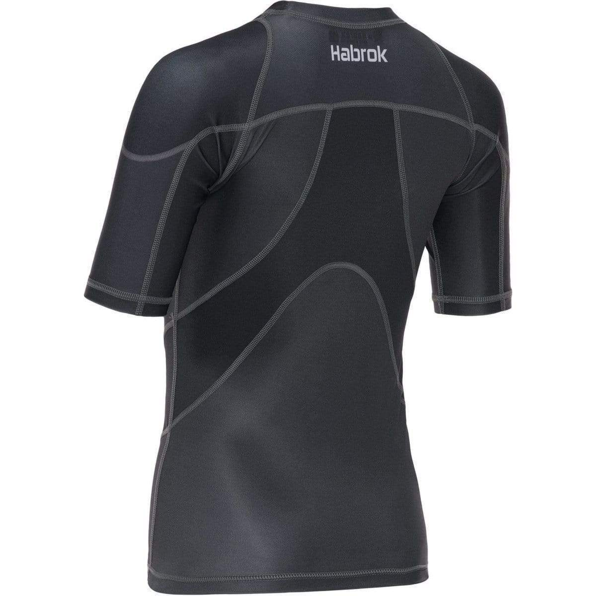 Habrok Rash Guard XS / GREY Pugnator 2.0 | Rash Guard | Women | Half Sleeve | Grey