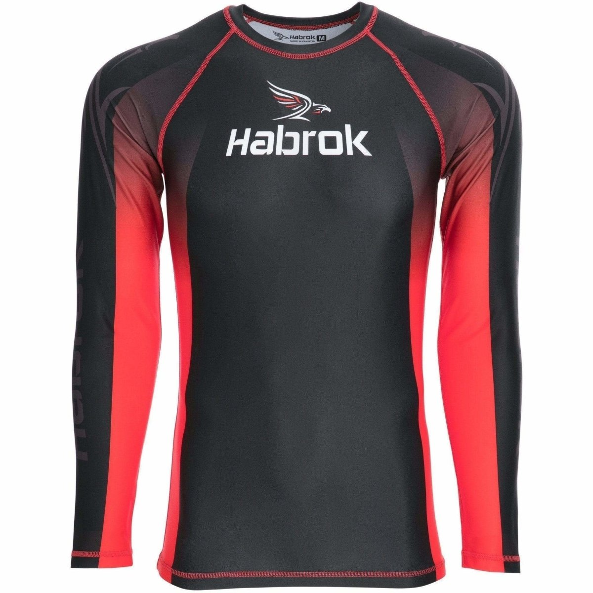 Habrok Rash Guard S / BLACK Elite Rash Guard  | Men Elite Rash Guard | Athletes | Habrok
