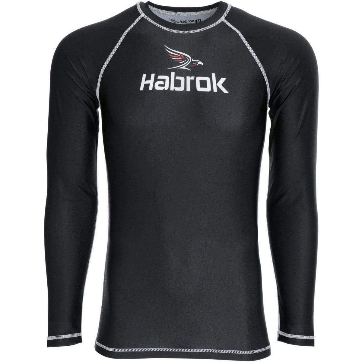 Habrok Rash Guard S / Black Performance Rash Guard | Men Performance Rash Guard | Habrok