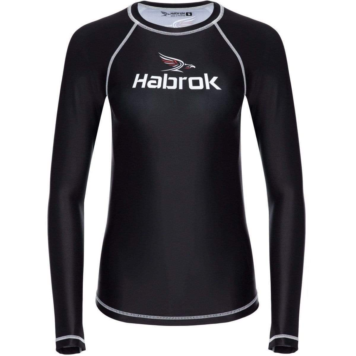 Habrok Rash Guard S / BLACK Performance Rash Guard | Women Performance Rash Guard | Women Atheletes | Habrok