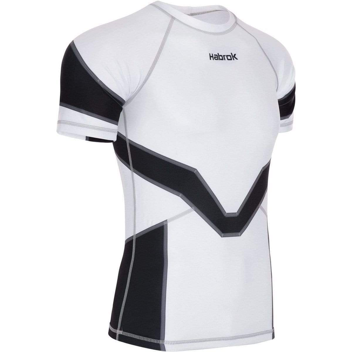 Habrok Rash Guard S / BLACK Transform 2.0 | Ranked Rash Guard Men | Half Sleeve | Men