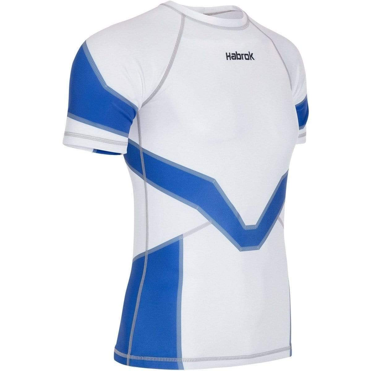 Habrok Rash Guard S / BLUE Transform 2.0 | Ranked Rash Guard Men | Half Sleeve | Men