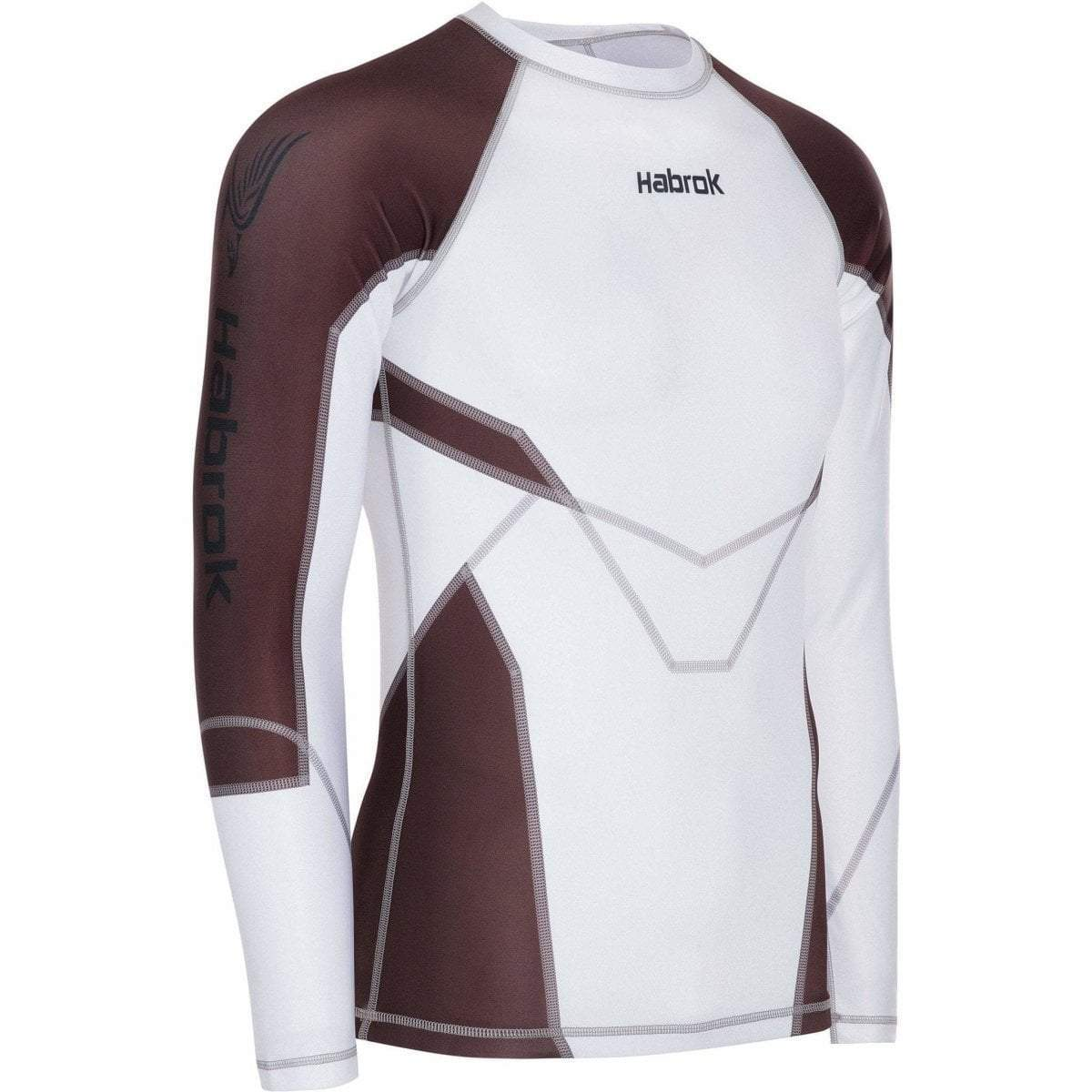 Habrok Rash Guard S / BROWN Transform 2.5 | Rash Guard | Men