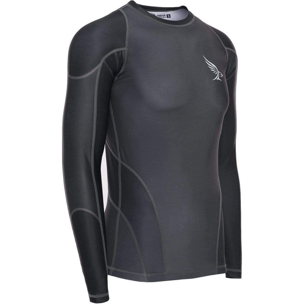 Habrok Rash Guard S / GREY Pugnator | Rash Guard | Men Pugnator | Rash Guard | Habrok