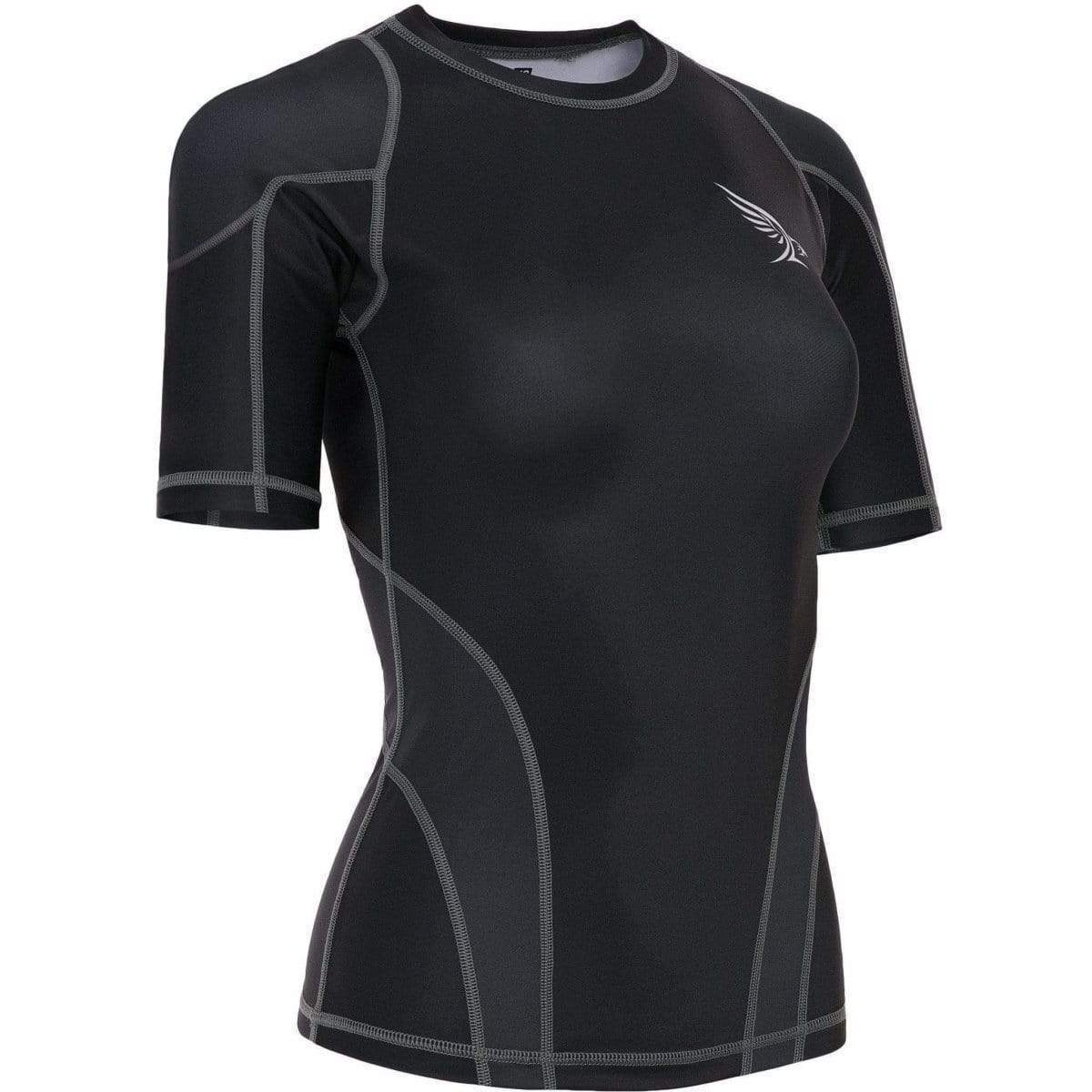 Habrok Rash Guard XS / BLACK Pugnator 2.0 | Rash Guard | Women | Half Sleeve | Black
