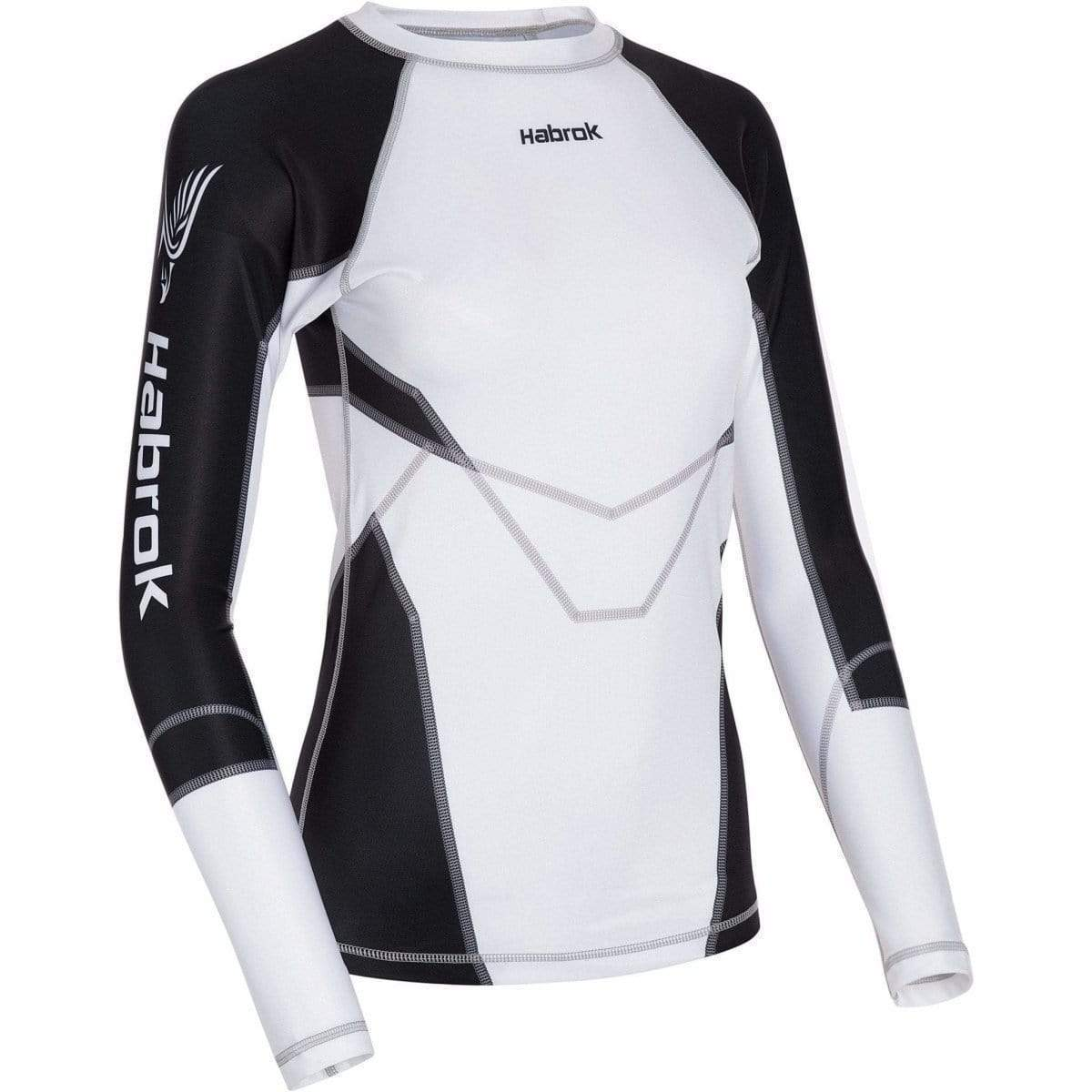 Habrok Rash Guard XS / BLACK Transform 2.5 |Rash Guard Women | Full Sleeve
