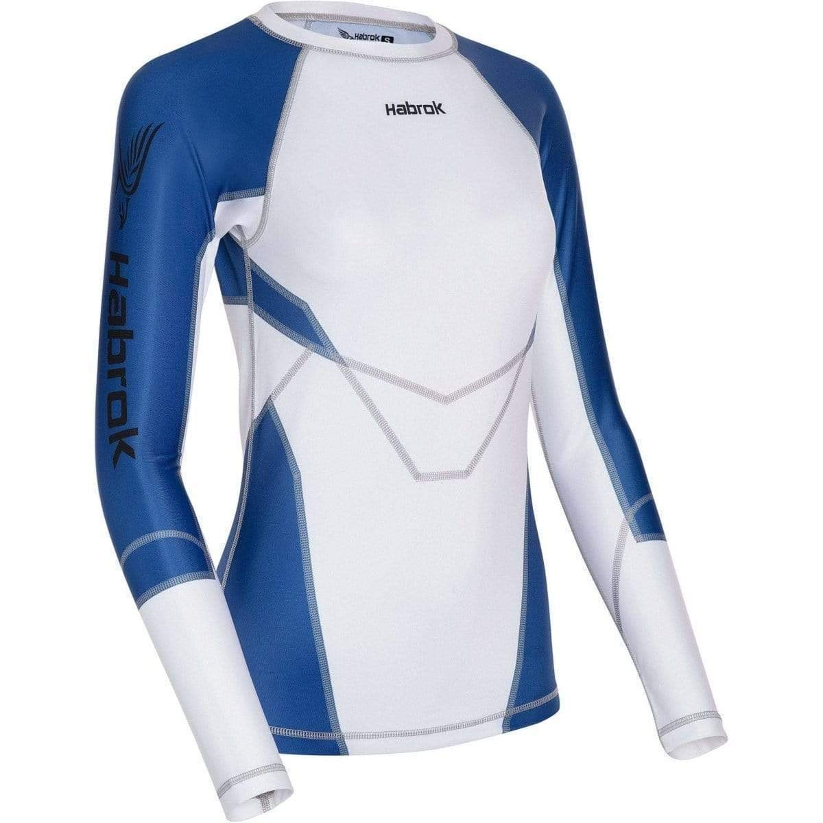 Habrok Rash Guard XS / BLUE Transform 2.5 |Rash Guard Women | Full Sleeve