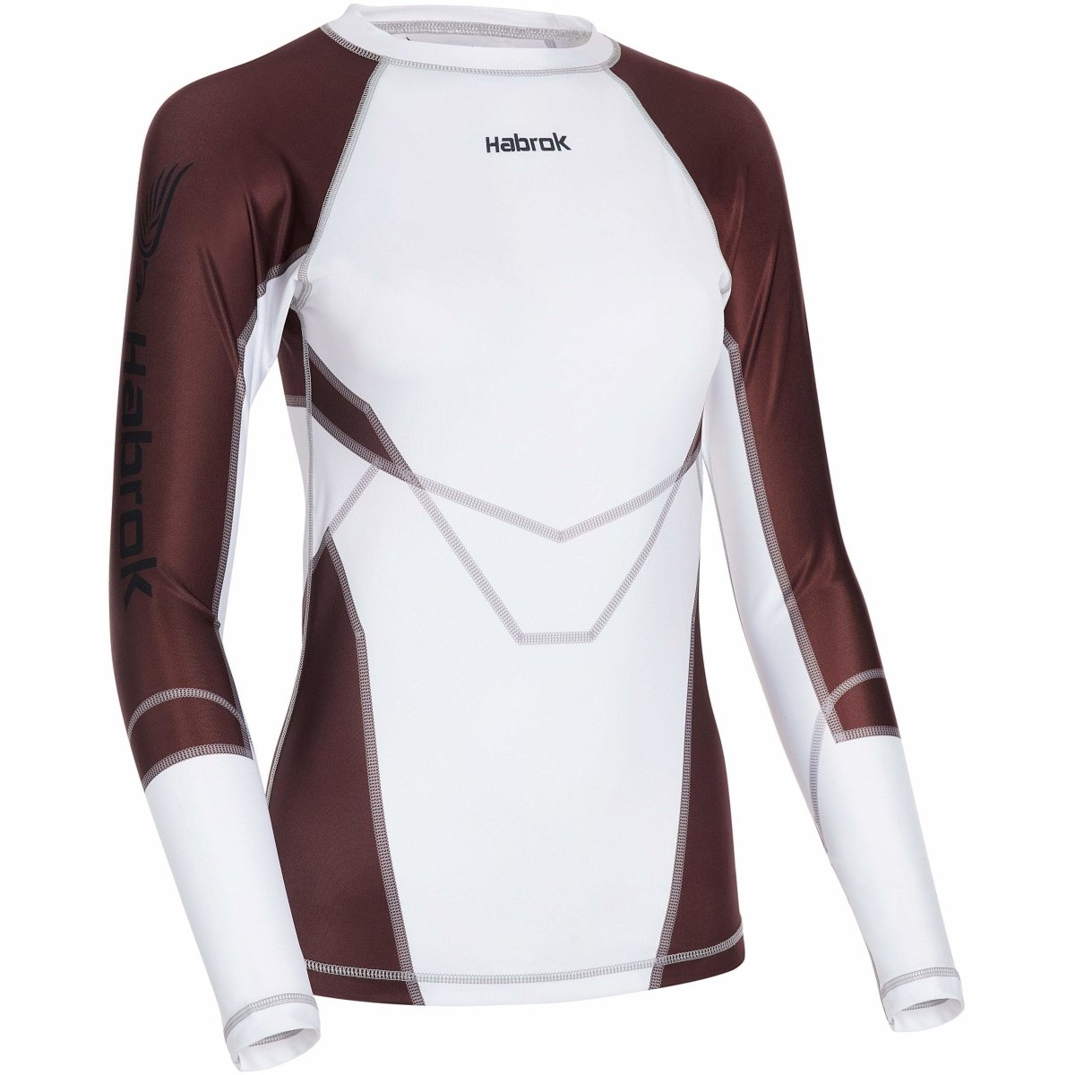 Habrok Rash Guard XS / BROWN Transform 2.5 |Rash Guard Women | Full Sleeve