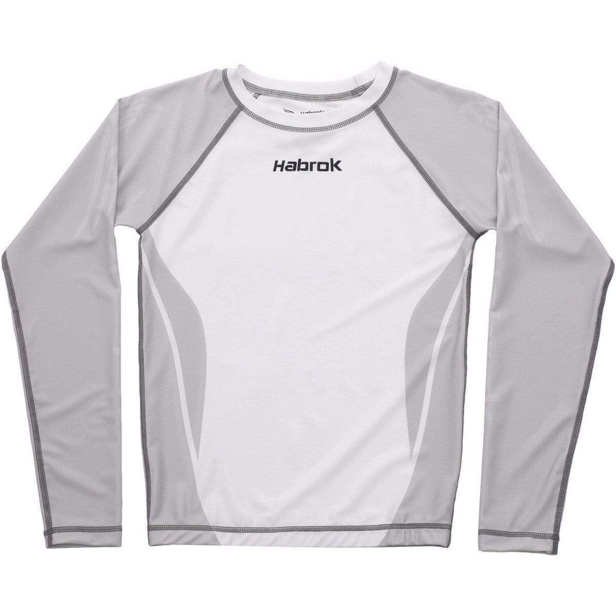 Habrok Rash Guard XS / GREY Performance Rash Guard - Youth Habrok - Performance Rash Guard - Youth