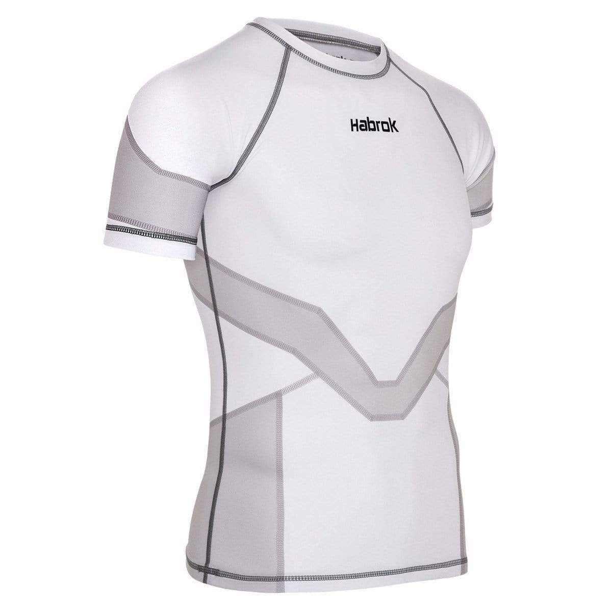 Habrok Rash Guard XS / GREY Transform 2.0 | Ranked Rash Guard Women | Half Sleeve