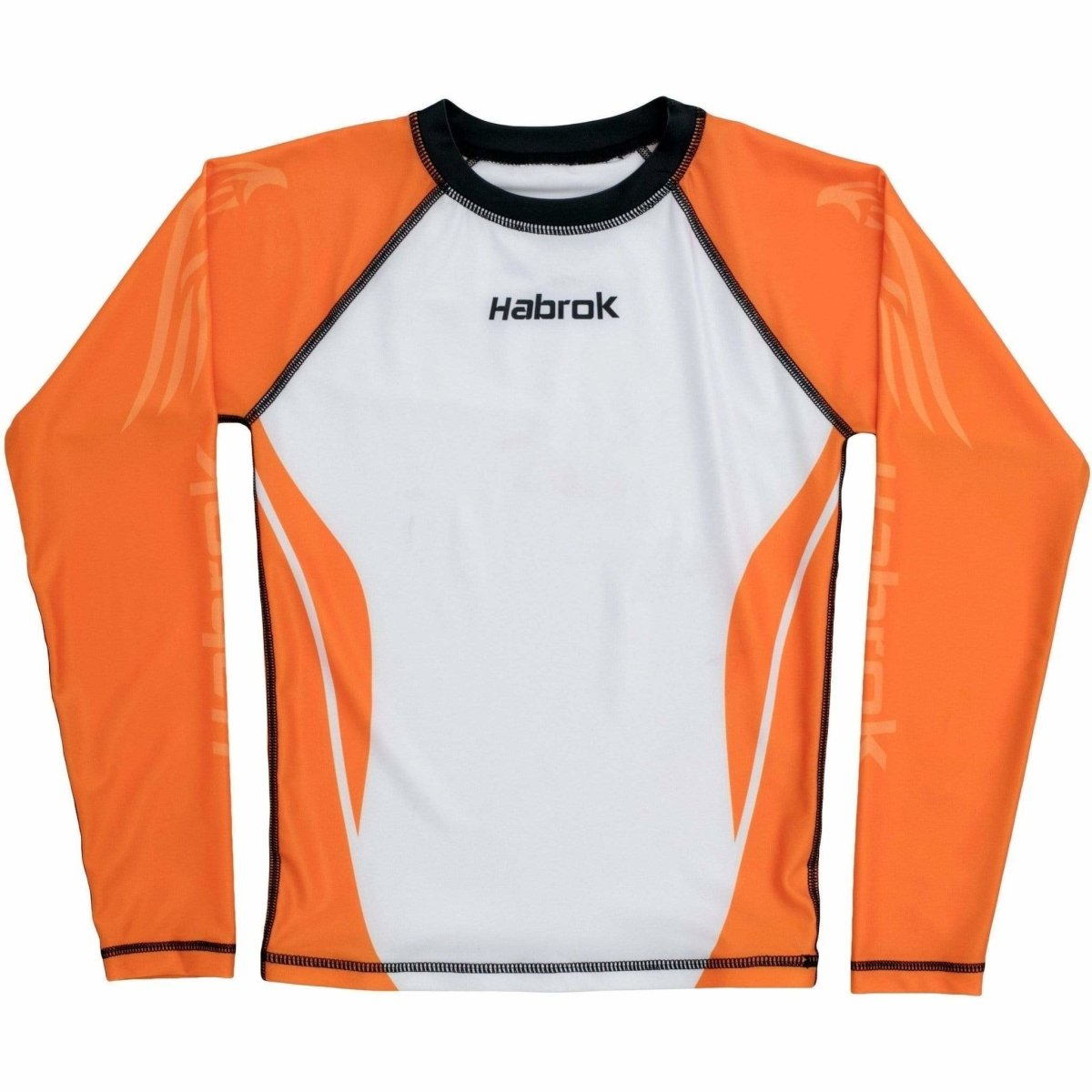 Habrok Rash Guard XS / Orange Performance Rash Guard - Youth Habrok - Performance Rash Guard - Youth
