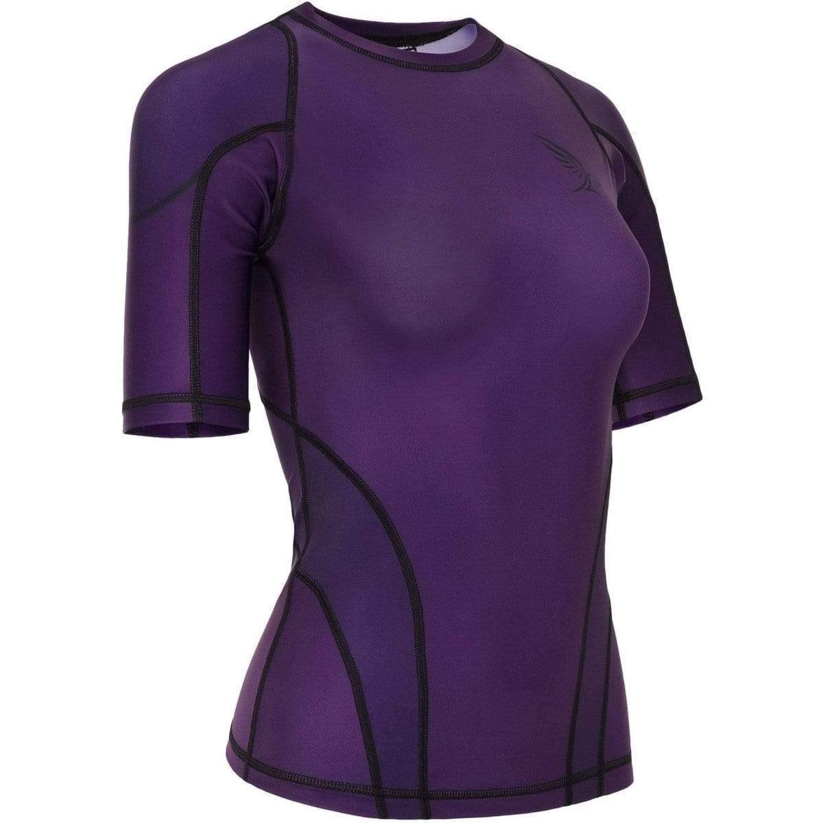 Habrok Rash Guard XS / PURPLE Pugnator 2.0 | Rash Guard | Women | Half Sleeve | Purple
