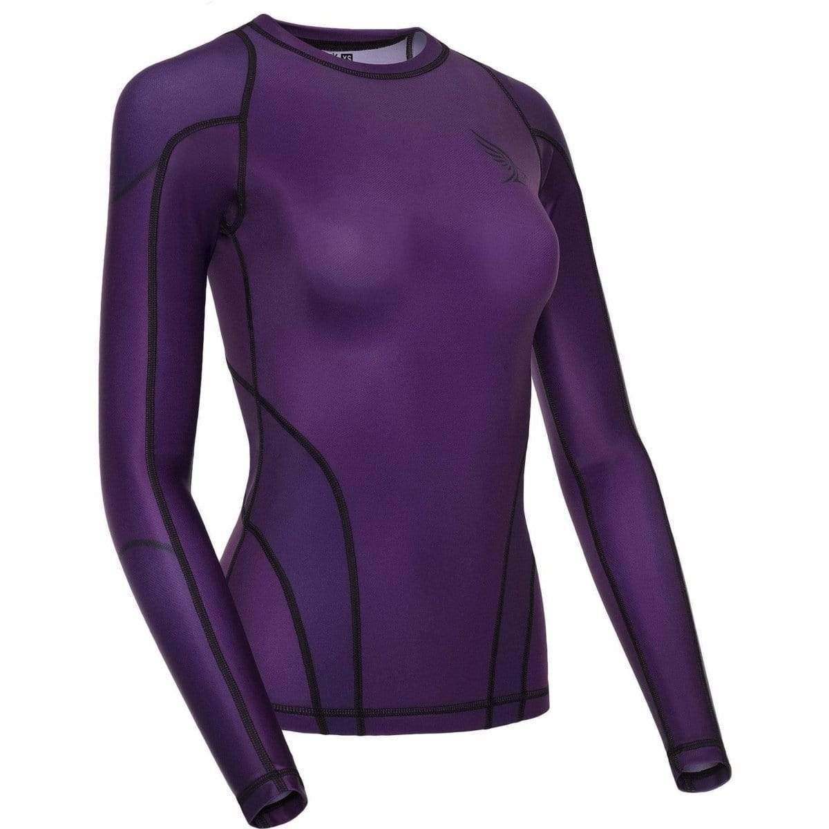 Habrok Rash Guard XS / PURPLE Pugnator | Rash Guard | Full Sleeve | Women