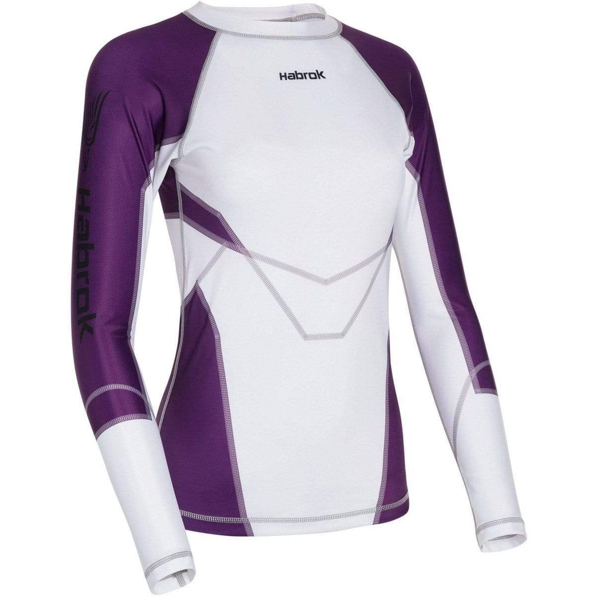 Habrok Rash Guard XS / PURPLE Transform 2.5 |Rash Guard Women | Full Sleeve