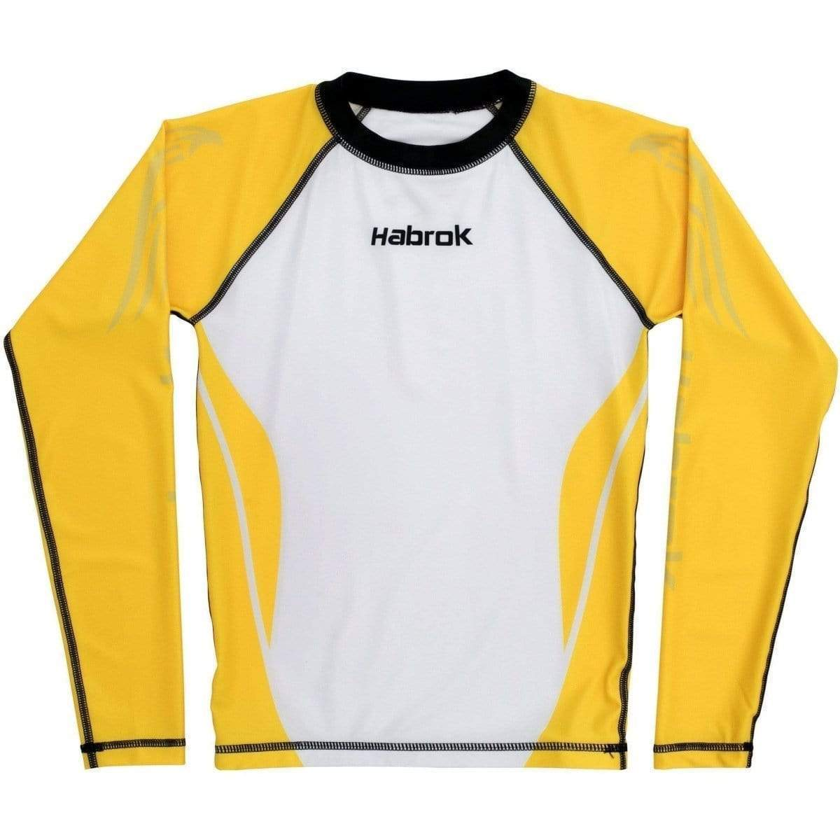 Habrok Rash Guard XS / Yellow Performance Rash Guard - Youth Habrok - Performance Rash Guard - Youth