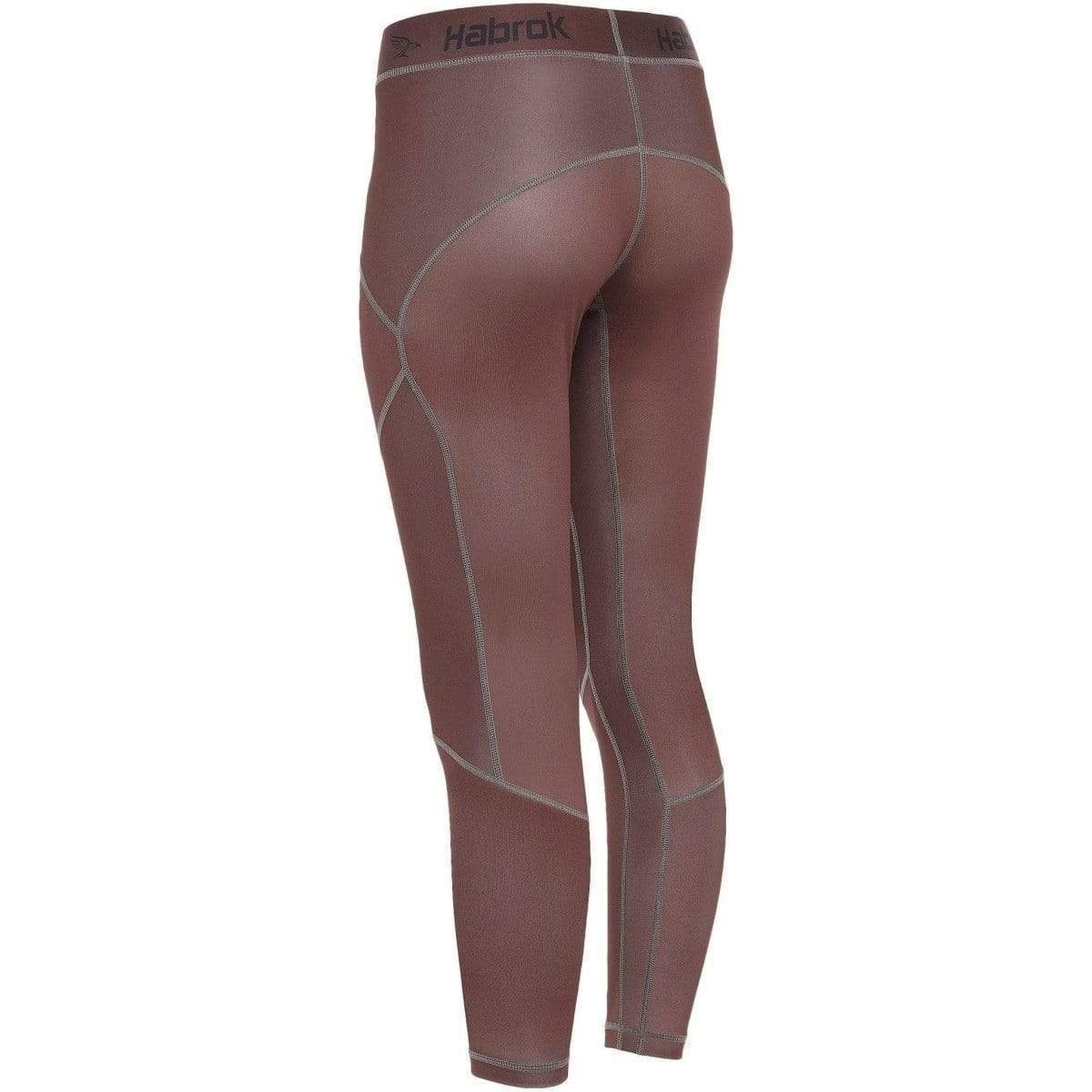 Habrok Spats Pugnator | Compression Pants | Women | Brown