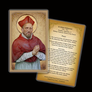 St. Robert Bellarmine Holy Card