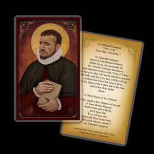 St. Edmund Campion Holy Card