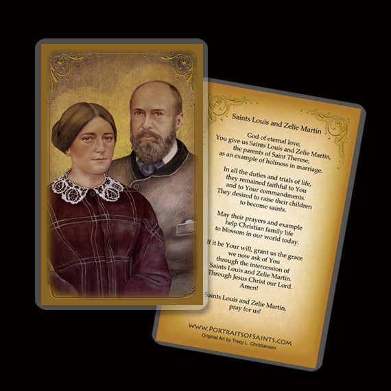Sts. Louis & Zelie Martin Holy Card