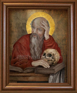 St. Jerome Framed