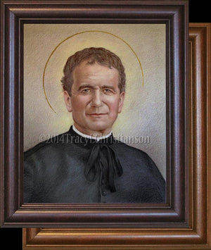 St. John Bosco Framed