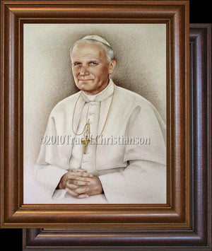 Pope St. John Paul II Framed