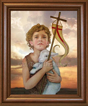 St. John the Baptist (Child) Framed