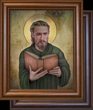 St. Luke the Evangelist Framed
