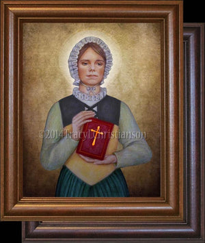 St. Margaret Clitherow Framed