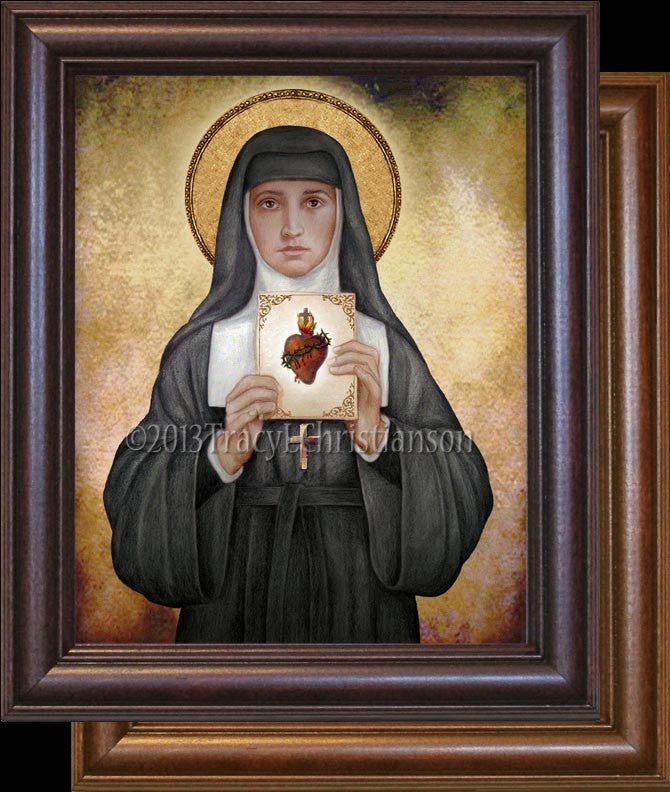 St. Margaret Mary Alacoque Framed