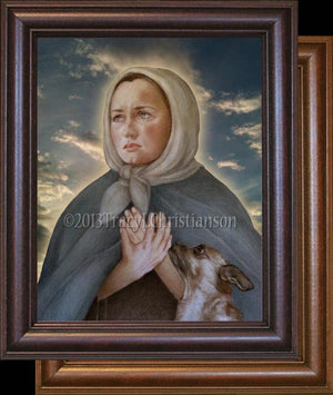 St. Margaret of Cortona Framed