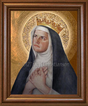 St. Margaret of Hungary Framed