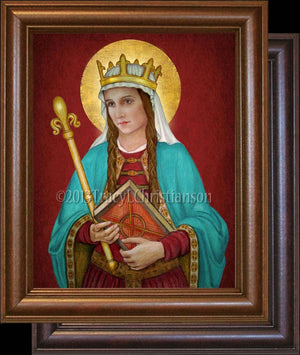 St. Margaret of Scotland Framed
