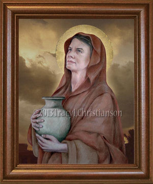 St. Martha of Bethany Framed