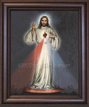 Divine Mercy (A) Framed