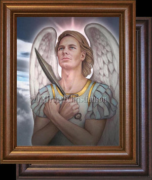 St. Michael the Archangel Framed