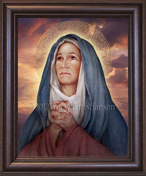 St. Monica Framed